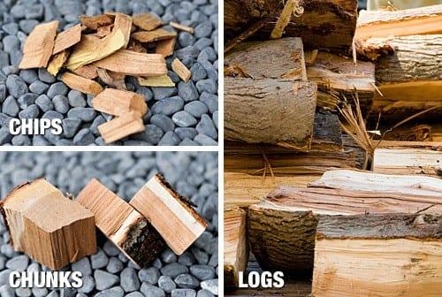 Formati legno per affumicare