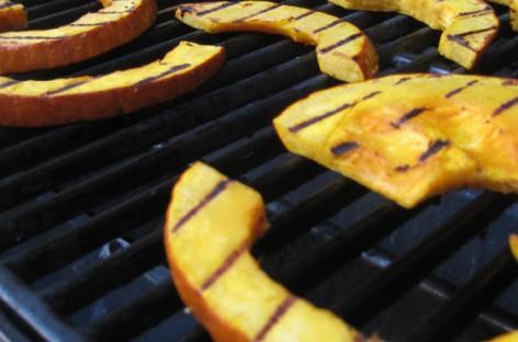 Insalata di zucca grigliata e rucola