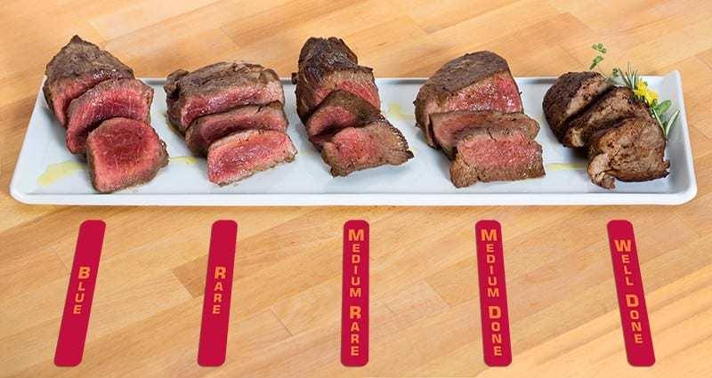 temperatura cottura carne
