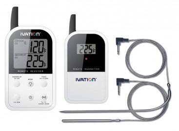 Termometro doppia sonda wireless Ivation