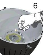 Lotus grill accensione fase 6