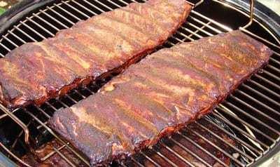 costine al barbecue affumicate