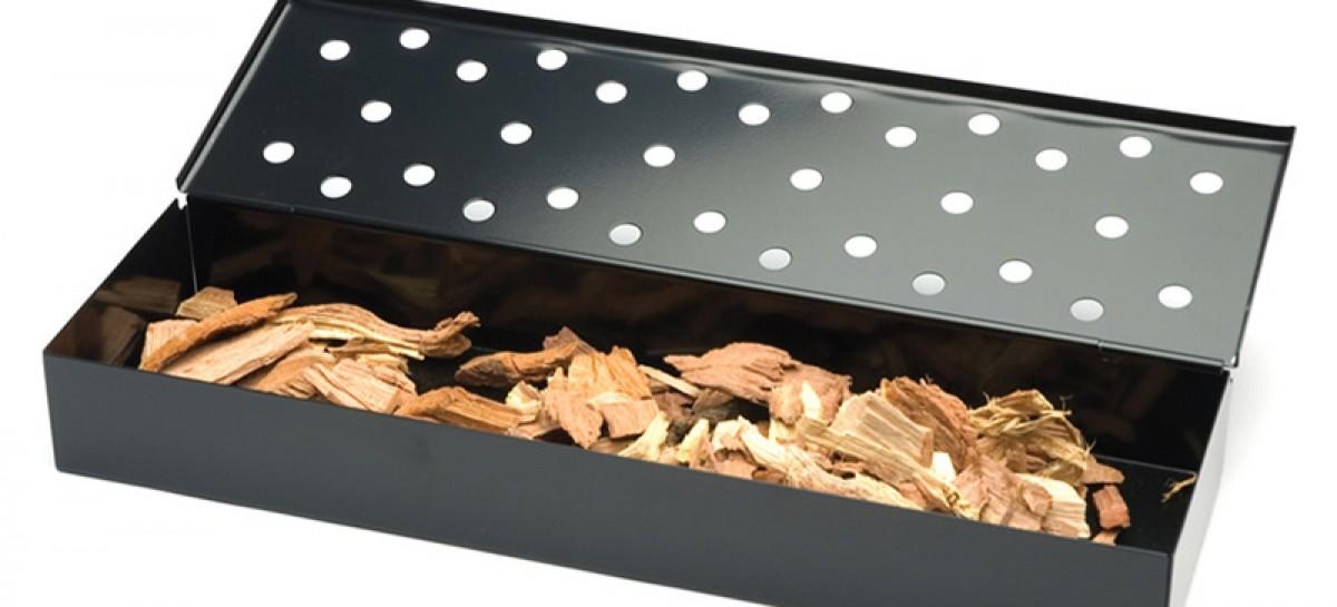Smoker box per affumicare a gas