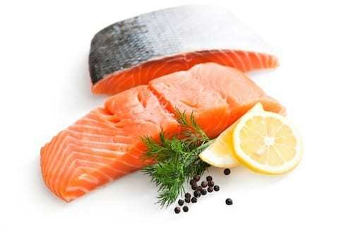 filetto di salmone da cuocere alla griglia