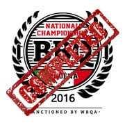 National Championship bbq modena