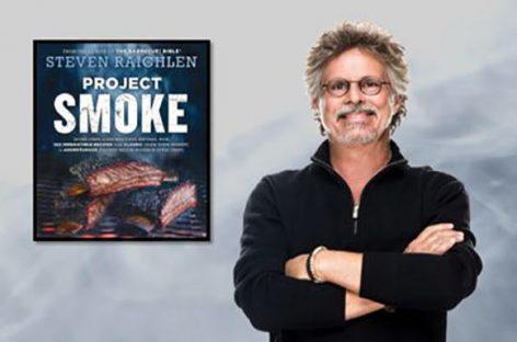 Project Smoke: il libro barbecue sull'affumicatura di Steven Raichlen