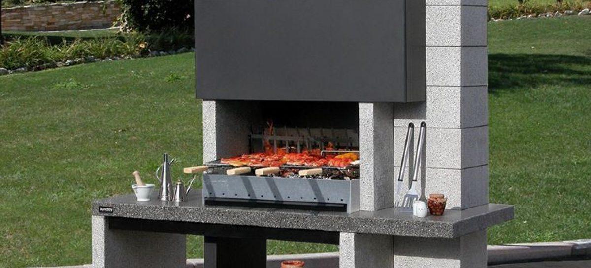 Barbecue Sunday Assuan In Muratura Per Esterno 98x62 Barbecue In