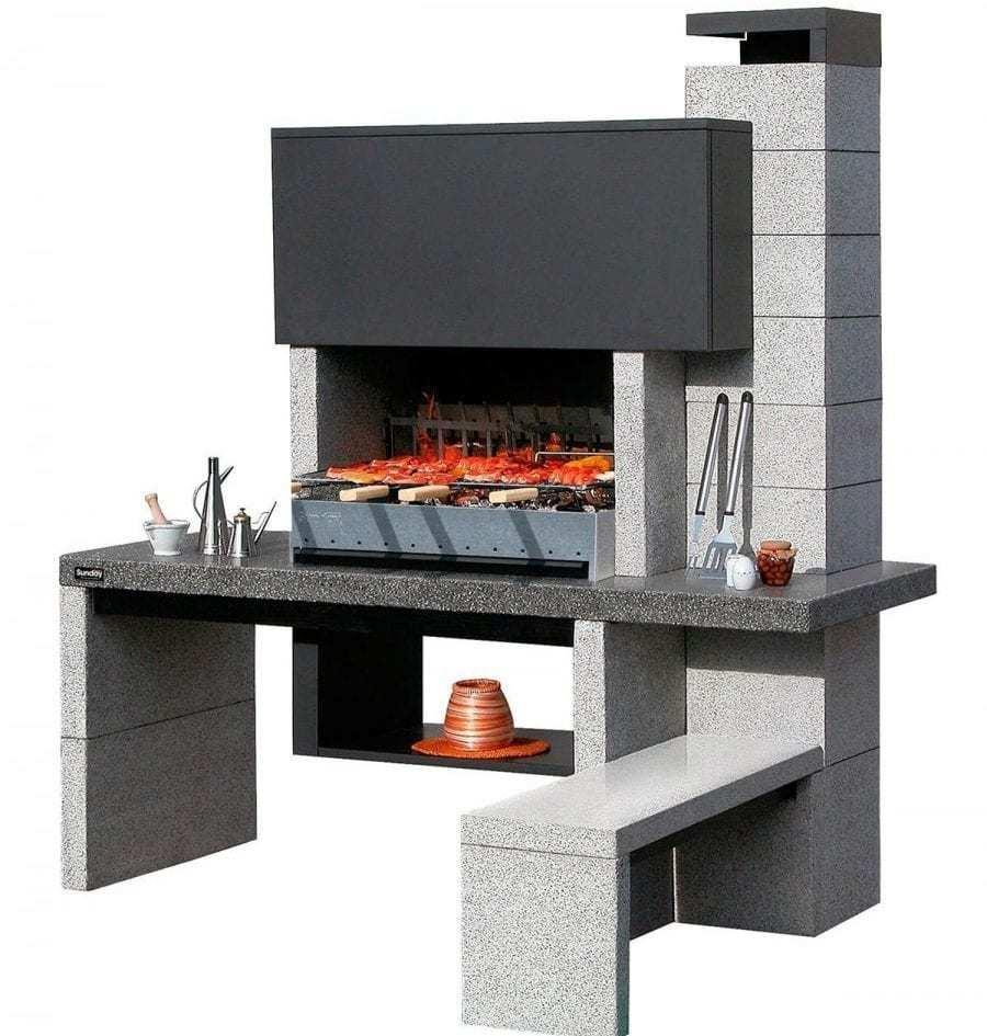 barbecue in muratura prefabbricato