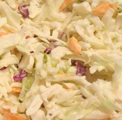 coleslaw con maionese
