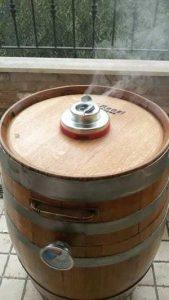 come costruire un barrel smoker passo 6