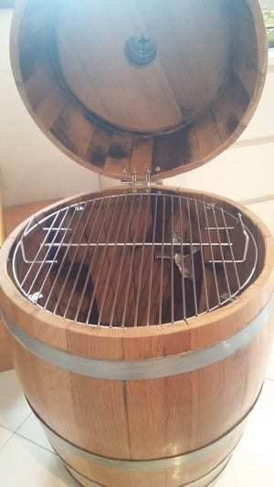 come costruire un barrel smoker passo 8