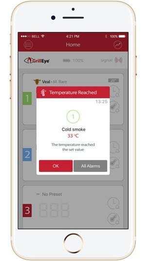 GrillEye App Allarmi
