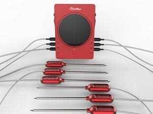 Termometro GrillEye con 6 sonde