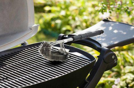 Spazzola per barbecue Premiala: puro acciaio INOX 304