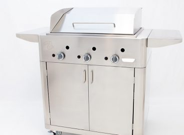 BARBECUE A GAS GRILL INOX