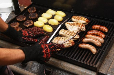 Guanti da barbecue Premiala