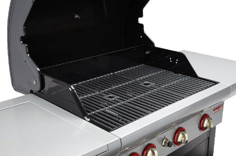 Barbecook Spring 350: barbecue a gas 3 bruciatori +1