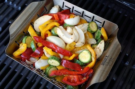 Grigliata di verdure condite