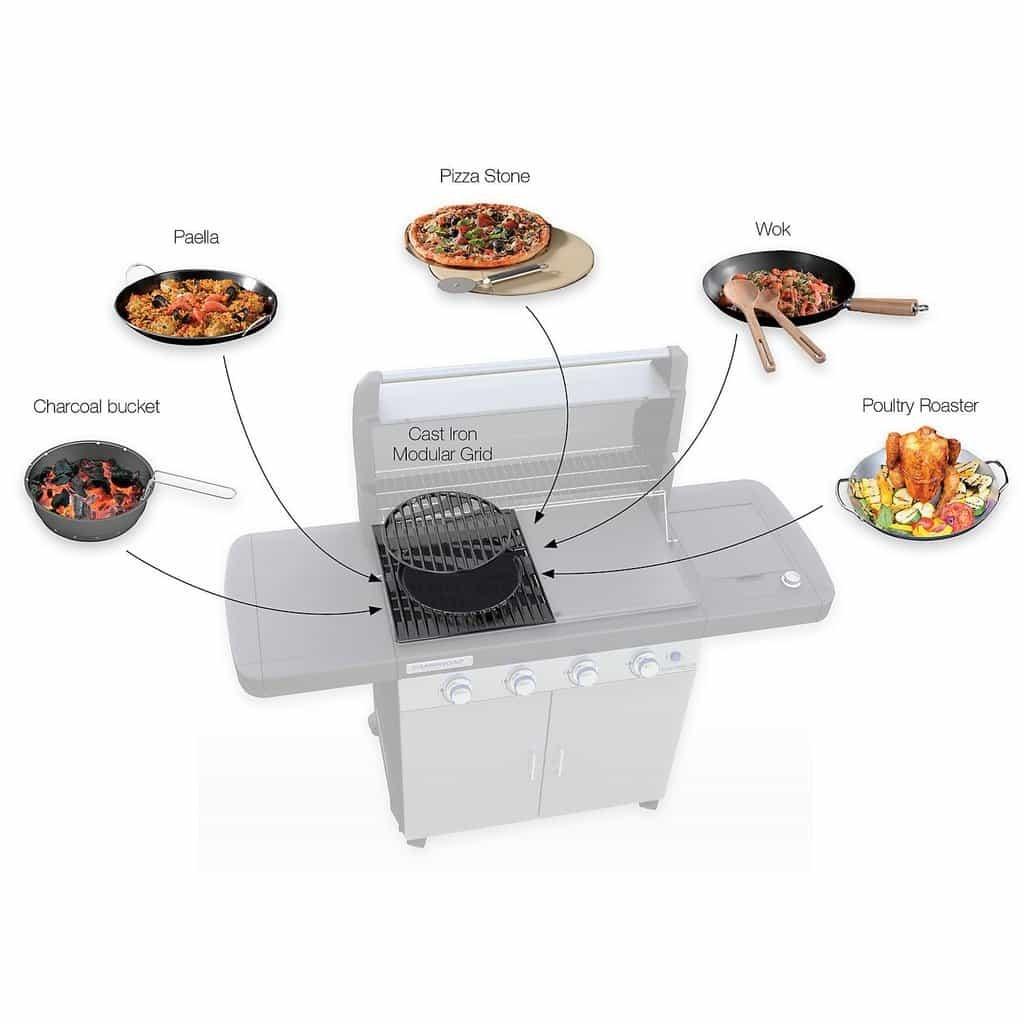 campingaz 4 series rbs lxs barbecue a gas innovativo. Black Bedroom Furniture Sets. Home Design Ideas