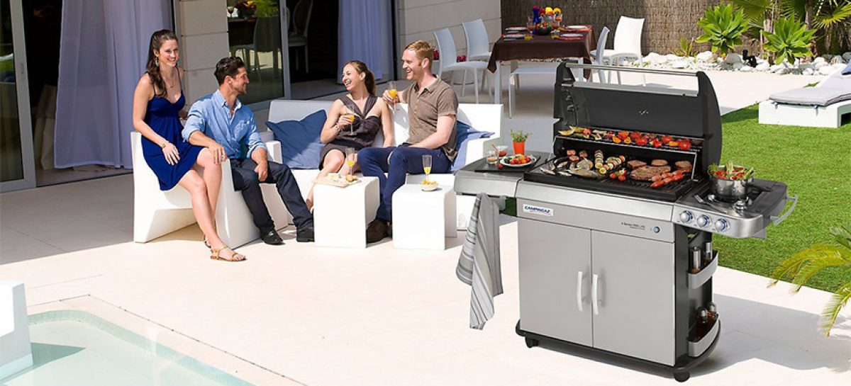 Campingaz 4 Series RBS LXS: barbecue a gas innovativo