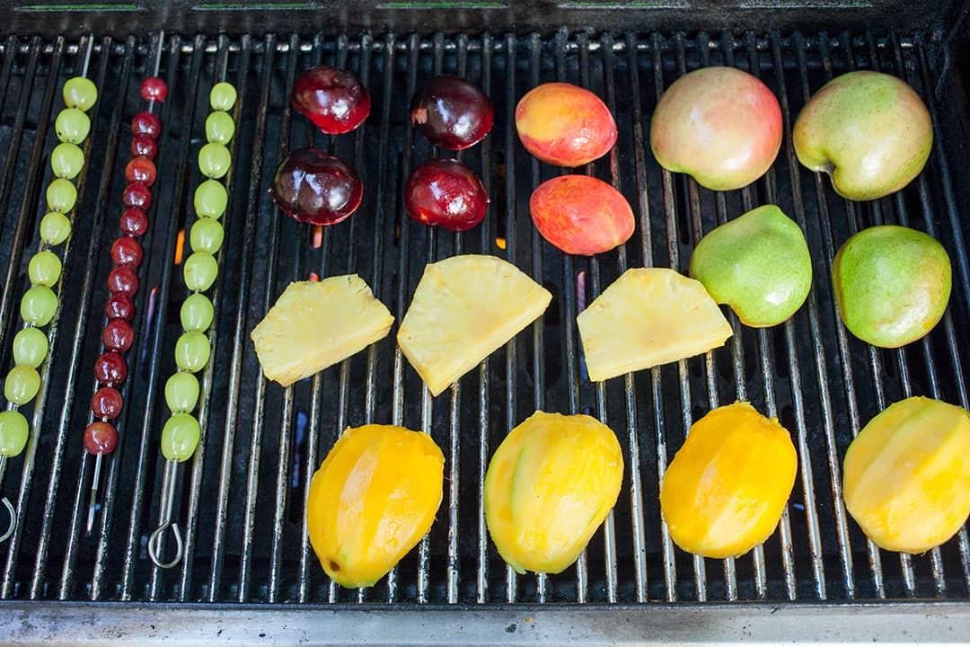 frutta alla griglia