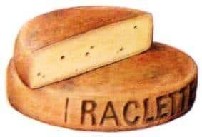 forma di formaggio raclette
