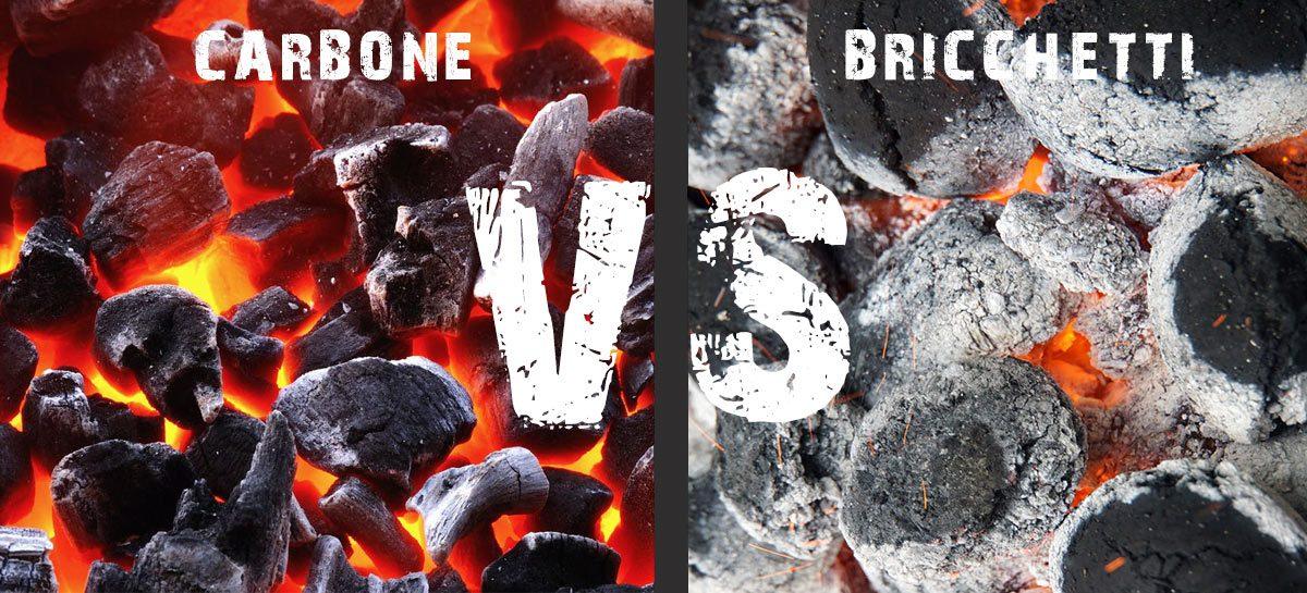 Carbone di legna o bricchetti?