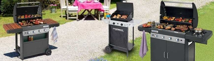 barbecue a gas campingaz
