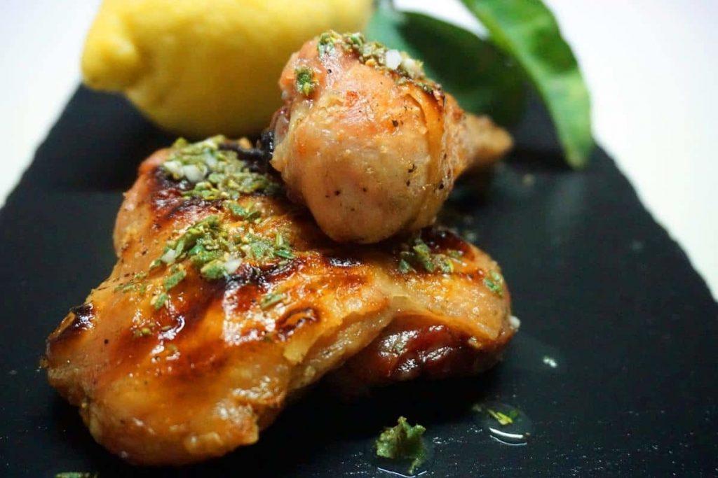 pollo alla griglia alla mediterranea