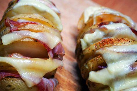 Patate Hasselback: un classico scandinavo… al Barbecue