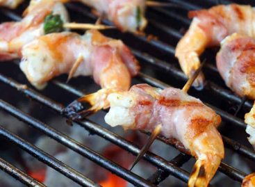 Gamberi avvolti nella pancetta – Bacon Wrapped Shrimp
