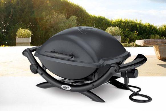 Weber Q 2400 il grill elettrico con coperchio!