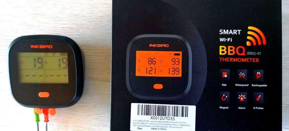 Termometro Wifi Carne – Il termometro a lettura istantanea offre una lettura digitale della temperatura veloce e precisa.