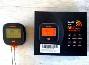 Inkbird IBBQ-4T: il nuovo termometro wifi con 4 sonde