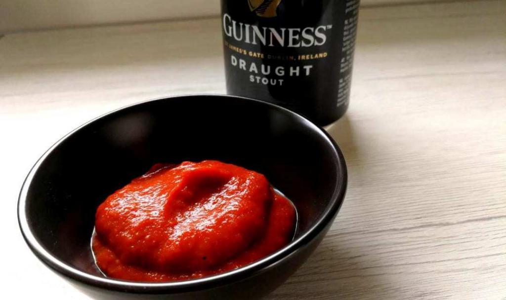 salsa barbecue alla guinness
