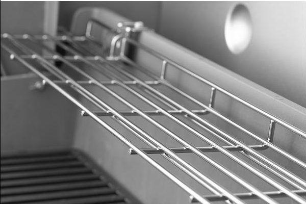 griglia di riscaldamento ripiegabile Tuck away