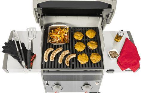 Weber Spirit II E-210: il barbecue a gas essenziale