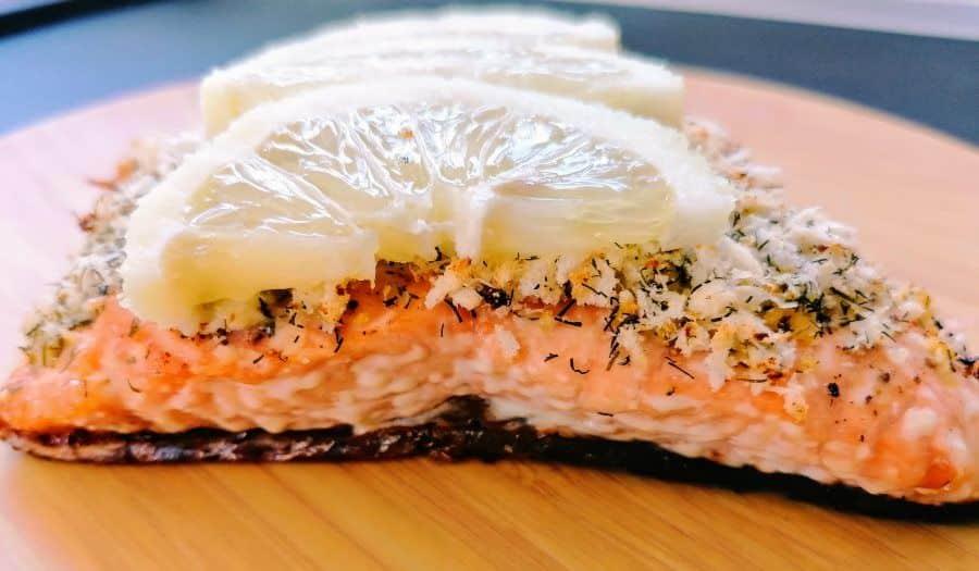 salmone in panure