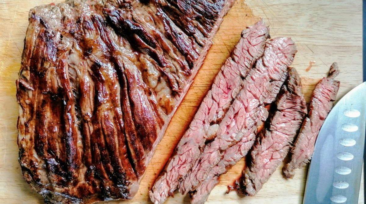 Diaframma di manzo alla griglia – Skirt Steak