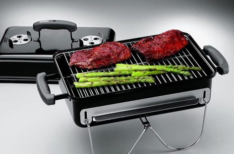 Weber Go Anywhere il barbecue portatile a carbonella