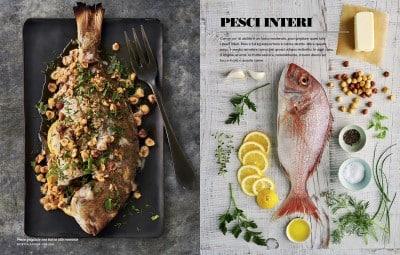 pesci interi alla griglia