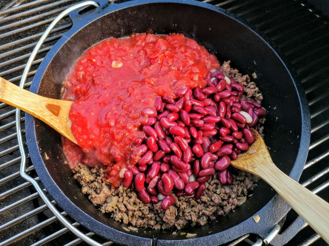 Chili al barbecue