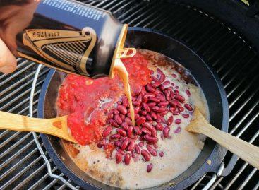 Chili con carne al barbecue