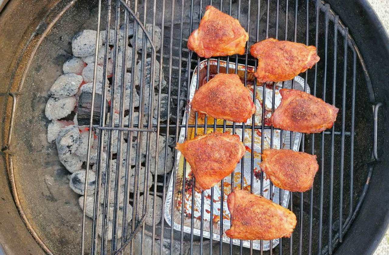 Sovracosce di pollo alla griglia