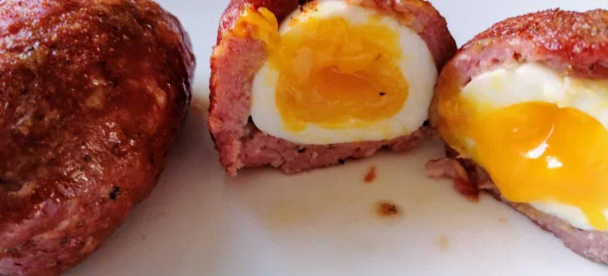 Scotch Eggs Affumicate: le uova alla scozzese al barbecue