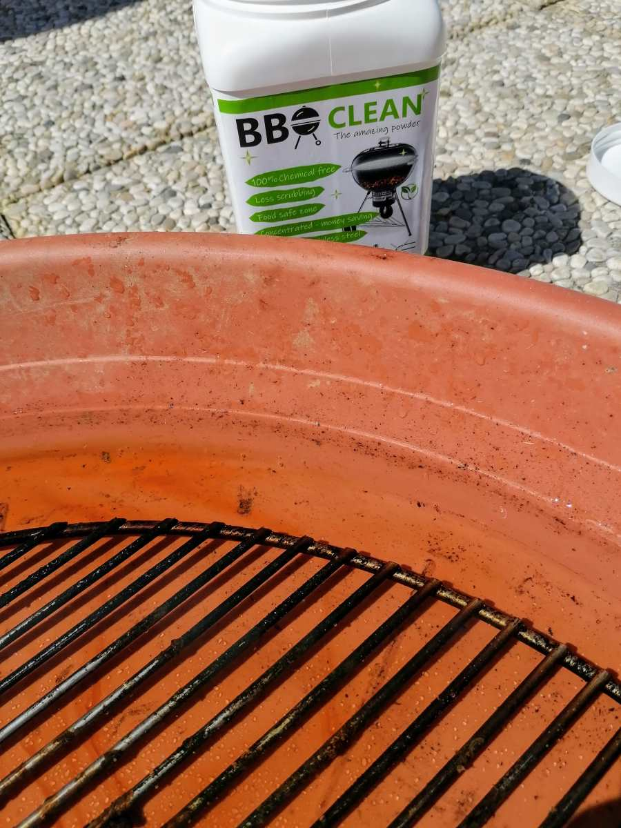 bbq clean the amazing powder